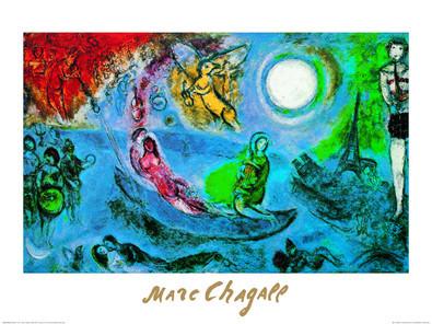 Marc Chagall Das Konzert