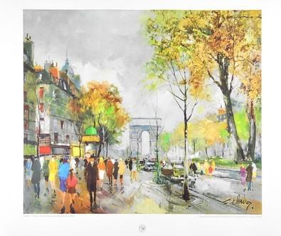 Fernand Claver Paris, Champs Elysees