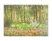 Monet claude die familie des kuenstlers im garten in argenteuil medium