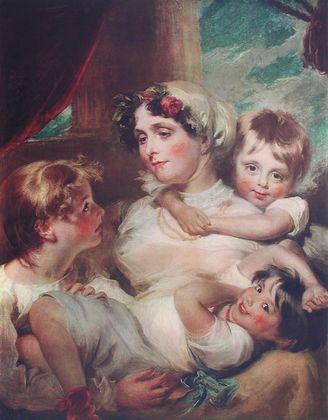 Harlow Mrs  Weddel and Children
