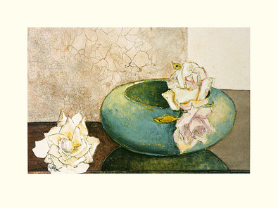 Ina van Toor 2er Set 'The Right Roses' + 'Three Roses and a Bowl'
