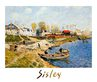 Sisley alfred sand on the quayside port marly medium
