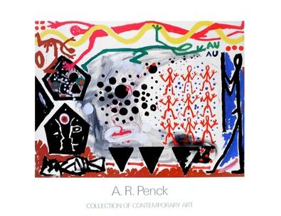 A.R. Penck Ereignis in N.Y. 2