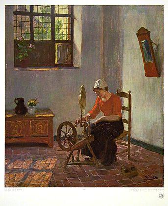 Hugo Krings Spinnerin