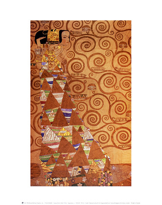 Gustav Klimt Expectation