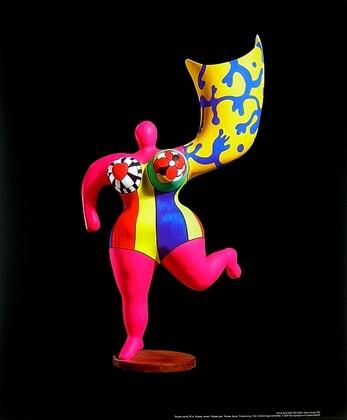Niki de Saint Phalle Ange luminaire