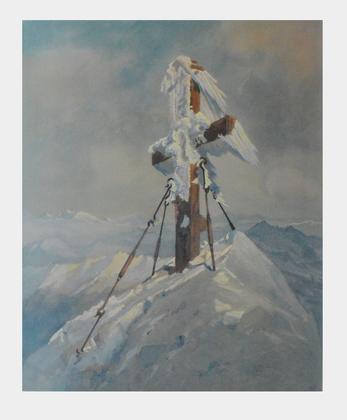 Eduard Manhart Das Grossglocknerkreuz