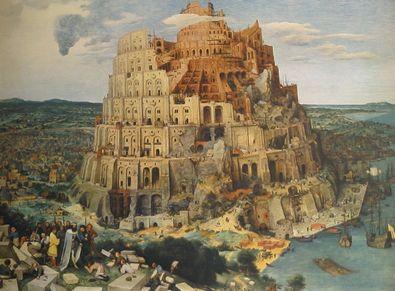 Pieter Brueghel Der Turmbau zu Babel