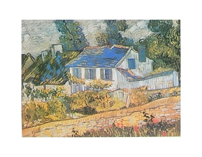 Vincent van Gogh Haeuser in Auvers