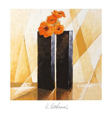 Karsten Kirchner 3er Set Blumenstilleben