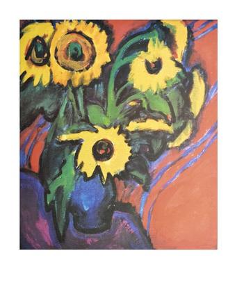 Ernst Ludwig Kirchner Sonnenblumen