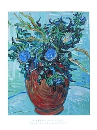 Vincent van Gogh Bouquet de Chardons