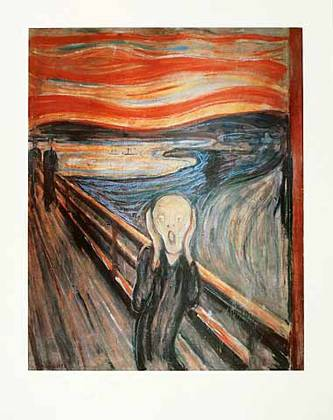 Edvard Munch Der Schrei (71x56cm)