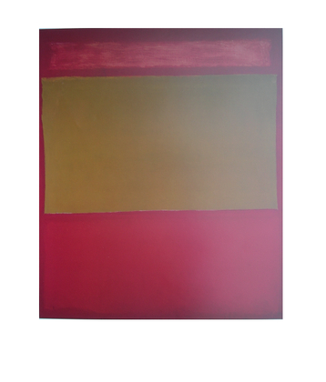 Mark Rothko Red Band