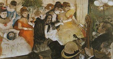 Edgar Degas Cabaret  1875