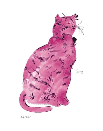 Andy Warhol Pink Sam