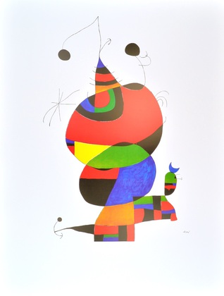 Joan Miro Hommage an Picasso