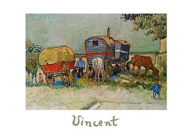Vincent van Gogh Rast der Zigeuner
