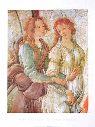 Sandro Botticelli Venus bietet Geschenke