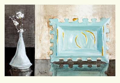 Ina van Toor 2er Set 'Paper Flowers' + 'Wine & Roses'