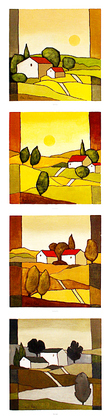 Hans Paus Four Seasons (Spring, Summer, Autumn, Winter)