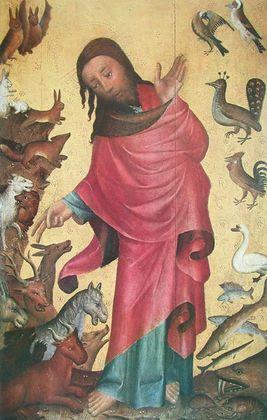 Meister von Bertram Erschaffung der Tiere