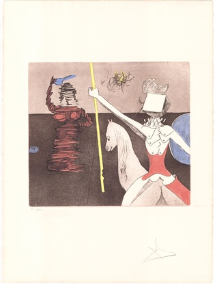 Salvador Dali Don Quijote (F) - Off the Battle