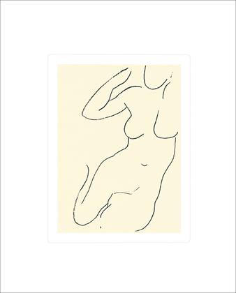 Henri Matisse Sirene, 1949