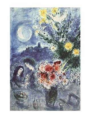 Marc Chagall Abenderinnerung