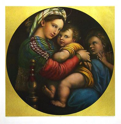 Raffael Madonna della Sedia (gross)
