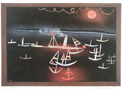 Paul Klee Flotille am kalten Morgen