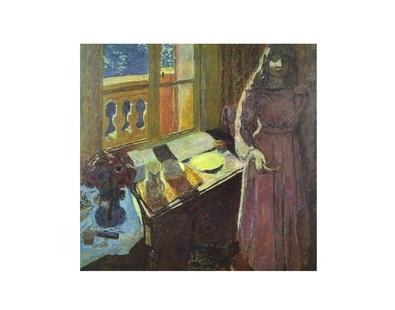 Pierre Bonnard The Bowl of Milk 1919