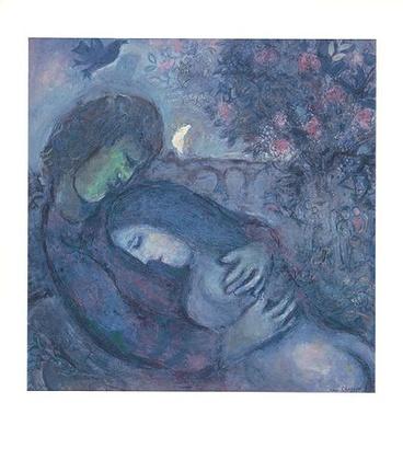 Marc Chagall Traum der Liebenden