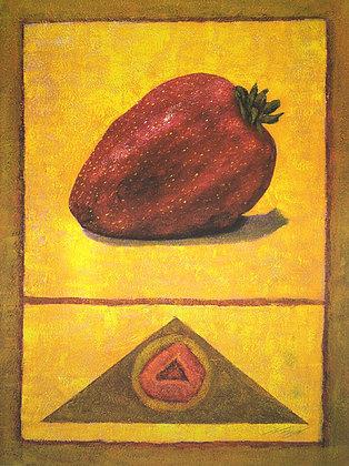 Rhanavardkar Madjid Erdbeere (handsigniert)