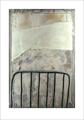 Antonio Tapies Grand blanc a la cage, 1965