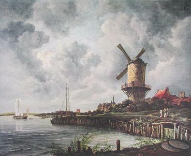 Jacob van Ruisdael Die Muehle von Wyk
