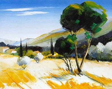 Richard Moisan Hameau en Provence