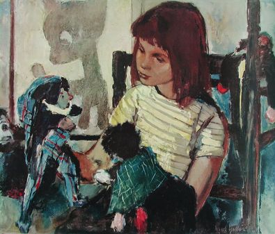 Bert Heller Spielendes Kind