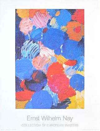 Ernst Wilhelm Nay Ekstatisches Blau