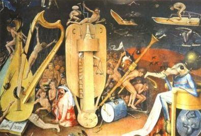 Hieronymos Bosch Die Musikantenhoelle
