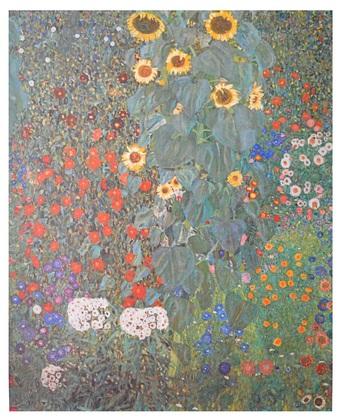Gustav Klimt Bauerngarten mit Sonnenblumen um 1905