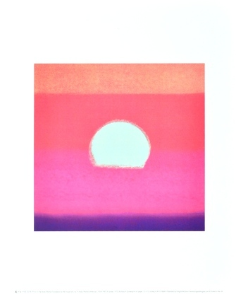 Andy Warhol Sunset (Fuchsia)