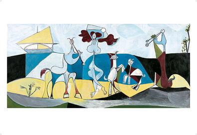 Pablo Picasso Die Freude des Lebens, 1946