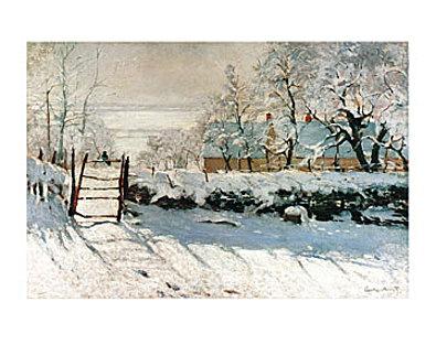 Claude Monet La pie
