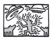 Haring keith untitled 1982 dogs with ufo s medium