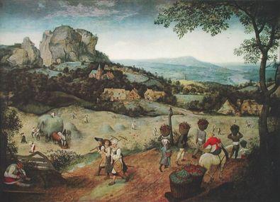 Pieter Brueghel Der Fruehling (Die Heuernte)