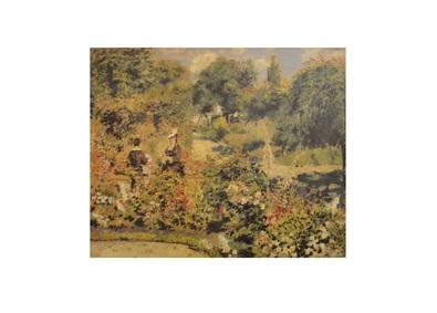 Pierre Auguste Renoir Garten in Fontenay