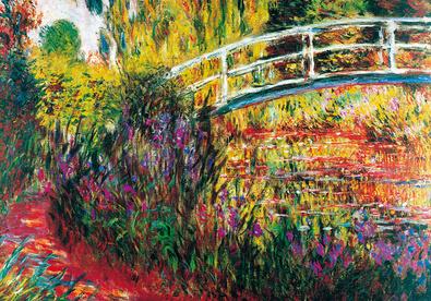 Claude Monet Le Pont Japonais