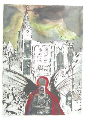 Salvador Dali S.N.C.F. 1229 Alsace (1969)