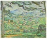 Paul Cezanne Montagne Ste-Victoire